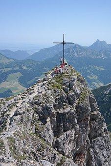 Palma, Summit, Summit Cross, Mountain, Allgäu Alps