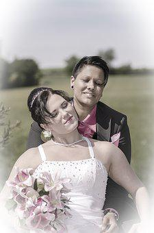 Bride And Groom, Marry, Wedding, Love
