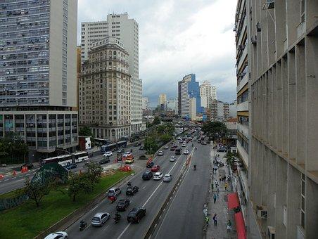 São Paulo, City, Holidays, 23 De Maio Avenue, Highway
