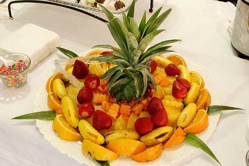 Fruit, Fruit Cocktail, Centerpiece, Diet