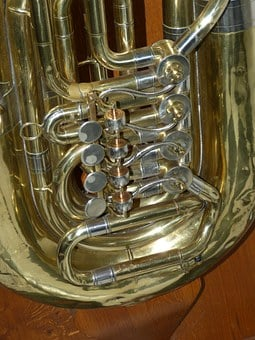 Tuba, Valves, Music, Instrument, Musical Instrument