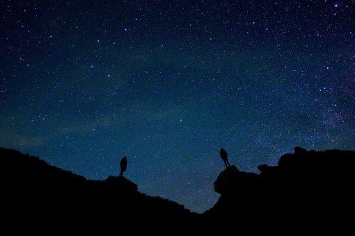 Backlit, Beautiful, Dawn, Evening, Idyllic, Night
