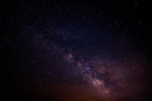 Cosmos, Dark, Galaxy, Milky Way, Sky, Space, Stars