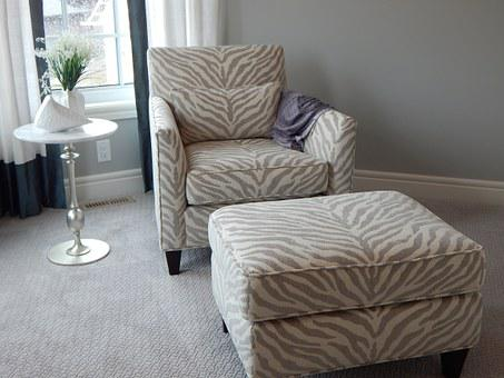 Chair, Ottoman, Furniture, Seating, Armchair, Room