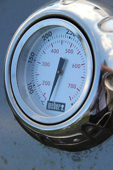Thermometer, Grill, Barbecue, Gas Grill