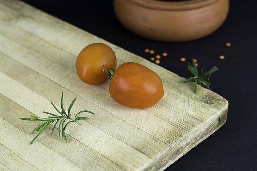 Tomato, Food, Breakfast, Picnic, Cafe, Wood, Morning