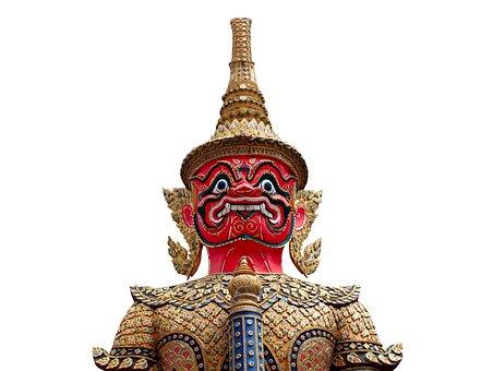 Asia, Background, Bangkok, Blue, Buddhism, Buddhist