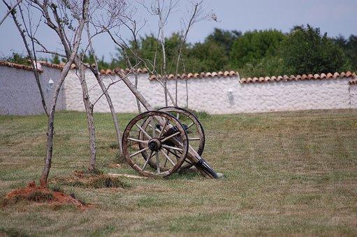 Cart, Garden, Wheelbarrow, Croatia, Gardening Equipment