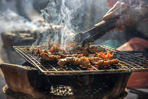 Smoke, Bbq, Barbecue, Grill, Grilled, Meat, Food, Pork