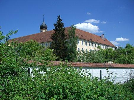 Cistercian Abbey, Oberschönenfeld, Monastery Wall