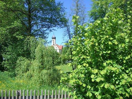 Monastery Church, Oberschönenfeld, Swabia, Bavaria