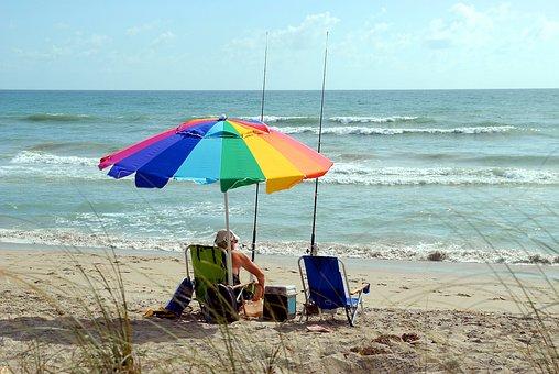 Fisherman, Alone, Person, Fishing, Sport, Leisure