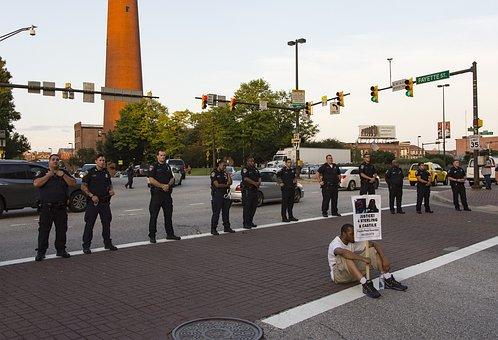 Protest, Black Lives Matter, Sign, Protestor