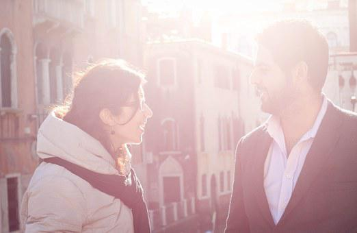 Fall In Love With, Couple In Love, Venice, Sunlight
