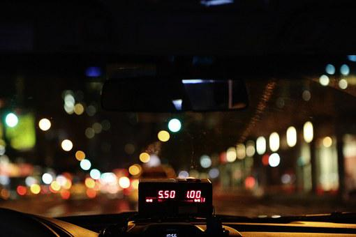 Taxi, Taximeter, Taxicab, Cab, Counter, Digital
