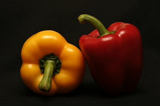 Agriculture, Bell Peppers, Capsicum, Colorful