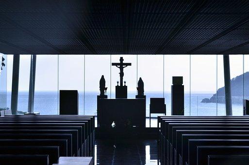 Church, Cross, Jesus, Chapel, Christian, Austerity
