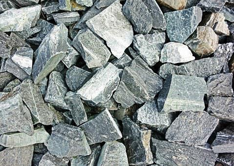 Stones, Crushed, Rock, Construction, Gravel, Material