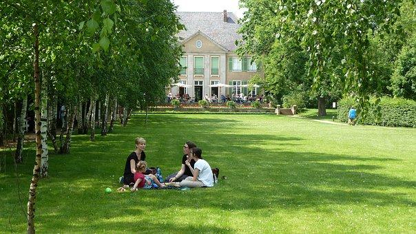 Picnic, Family, Berlin, Max Liebermann, Villa, Wannsee