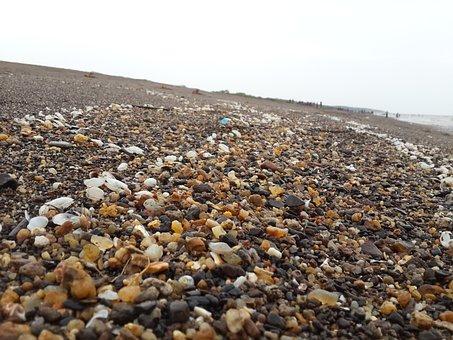 Mix, Stone, Rock, Small, Mixed, Sea, Lot, Surface