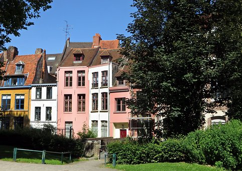 Lille, Old Lille, Street, Houses, District, Old Houses