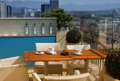 View, View Of The City, Terrace, Observation Deck, Cafe