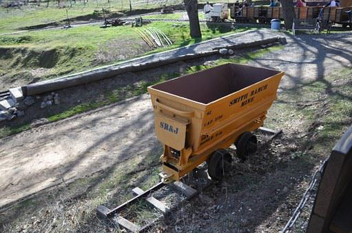 Gold Cart, Mine Cart, Cart, Mine, Gold, Vintage