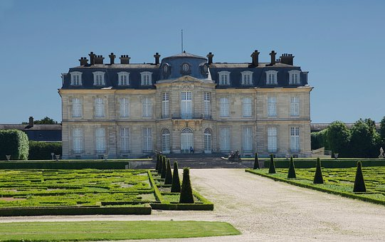 France, Castle, Champs-sur Marne, Building