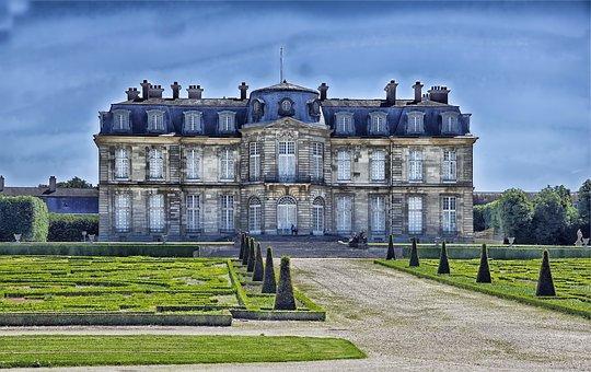 Champs Sur Marne, Castle, Landmark, Architecture, Hdr