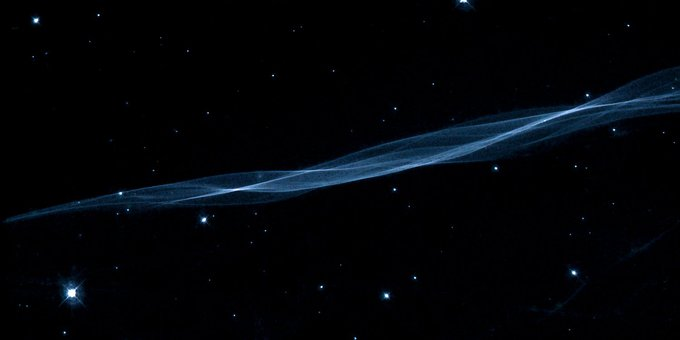 Veil Fog, Filament, Constellation Swan, Emission Nebula