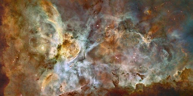 Carina Nebula, Ngc 3372, Eta Carinae Fog