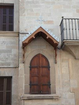 Building, Front, Facade, Housewife, Shrine, House Altar