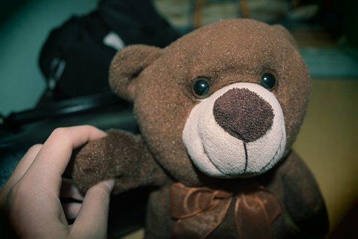 Teddy Bear, Doll, Bear, Tabitha, Yearning, Trail
