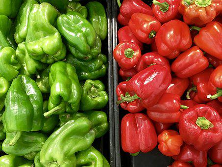Agriculture, Bell Pepper, Capsicum, Cooking, Food