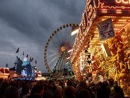 Festival Site, Ferris Wheel, Lot Shop, Loose, Fair