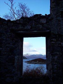 South Rona, School, Scotland, Island, Extension, Rocky
