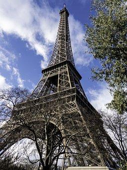 Eiffel Tower, Architecture, Symbol, Paris, France