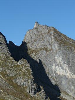 Small Höfats, Mountain, Mountains, Summit, Hoefatszahn