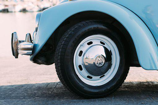 Automotive, Car, Road, Tire, Vehicle, Volkswagen, Wheel