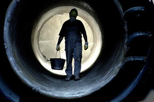 Workers, Production, Work, Hard Work, Stir, Tunnel