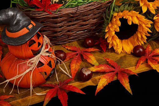 Autumn, Black, Dark, Decoration, Fall, Halloween