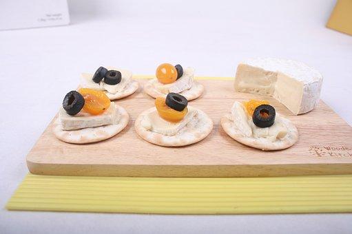 Cheese, Canapés, Food