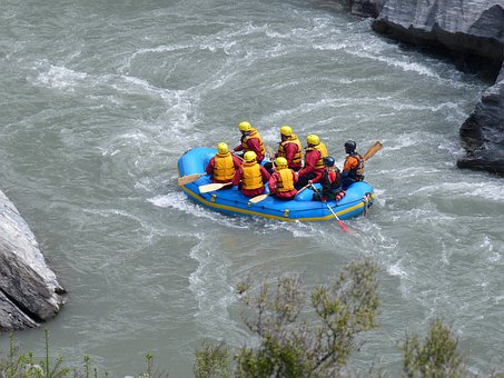 Rafting, Canyon, Gorge, Valley, Nature, Rock, Landscape