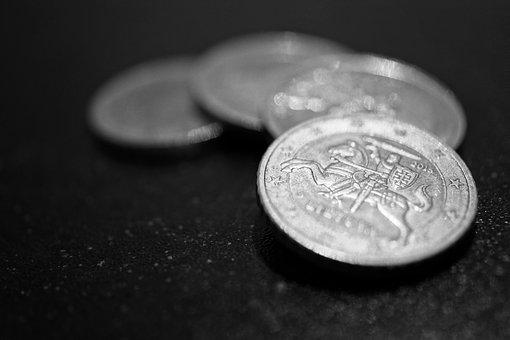 Close-up View, Euro, Macro Photography, Money