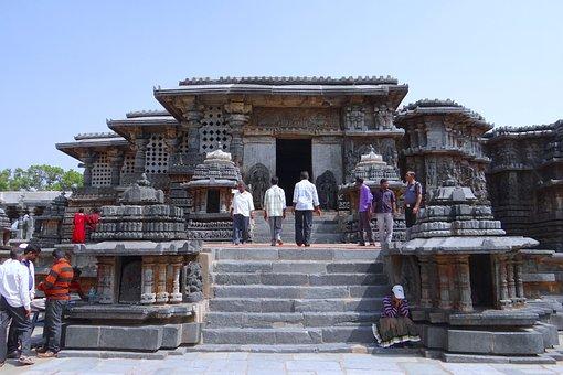 Temple, Hindu, Halebidu, Hoysala Architecture, Religion