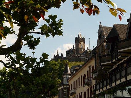 Cochem, Imperial Castle, Castle, Reichsburg Cochem