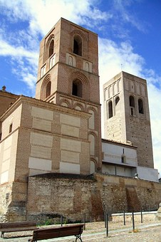 Arevalo, San Martin, Spain, Church, Tower, Building