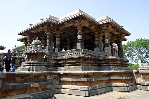 Temple, Kedareshwara, Hindu, Halebidu