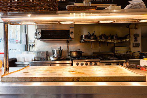 Kitchen, Restaurant, Restaurant Kitchen, Cook, Cooking