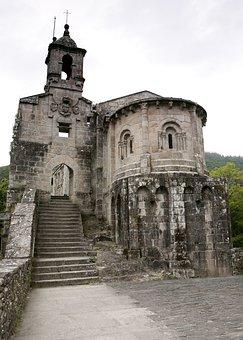 Monastery, Coruña, Caaveiro, Medival, Architecture